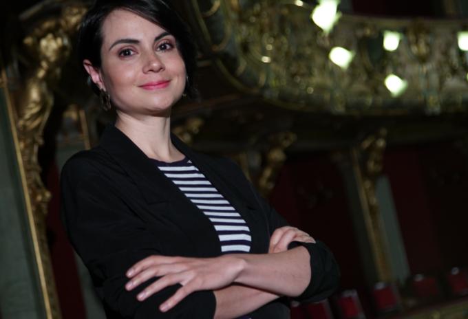 Claudia del Valle, directora del Teatro Colón