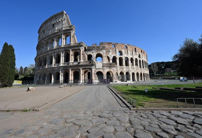 El Coliseo de Roma, uno de los lugares turístico de Italia