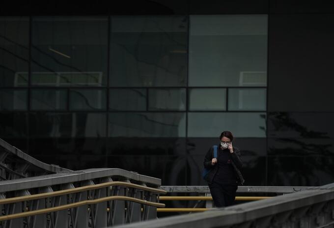 Coronavirus en Bogotá - simulacro de aislamiento
