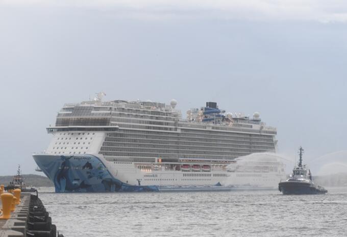 Más de 40 cruceros estaban programados para atracar hasta junio en la ciudad