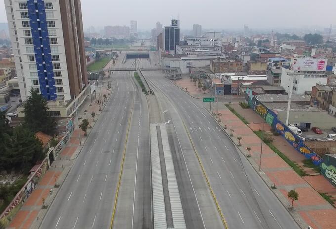 Bogotá - Aislamiento preventivo