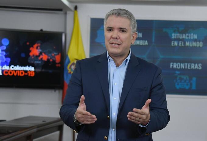 Iván Duque sobre coronavirus en Colombia