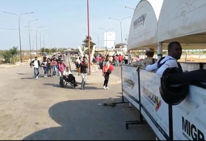Preocupación por los puntos fronterizos en La Guajira