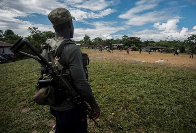 Autoridades hablan de incremento del conflicto en Colombia