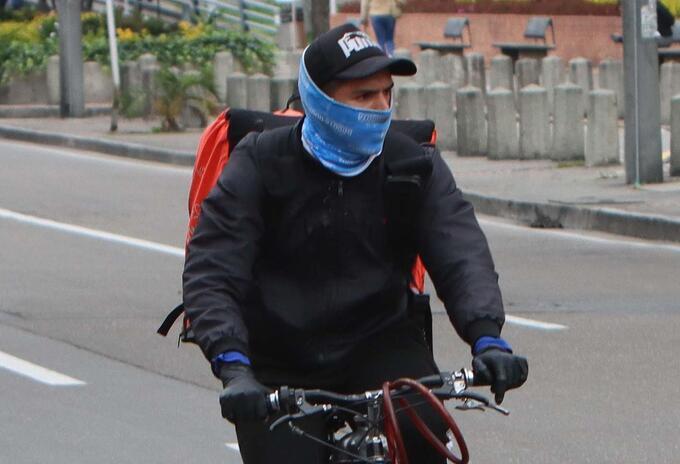 Héroes anónimos en la cuarentena: Los domiciliarios