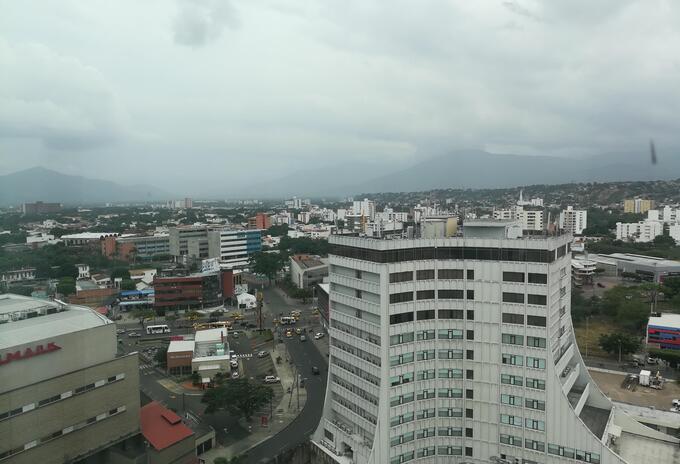 Panorámica de la ciudad de Cúcuta