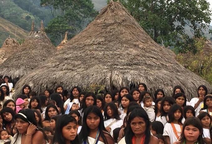 Indígenas Santa Marta