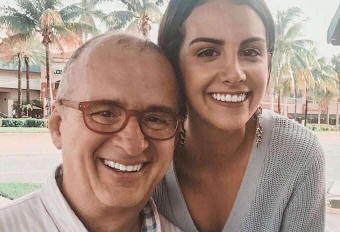 Jota Mario y su hija