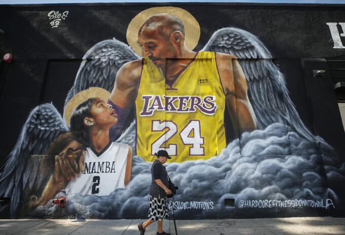 Homenaje a Kobe Bryant y su hija
