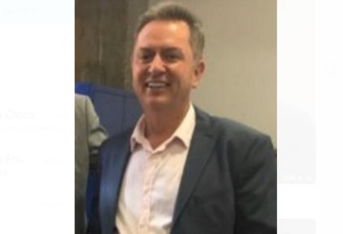 Empresario Leobardo Ruiz Ocampo.