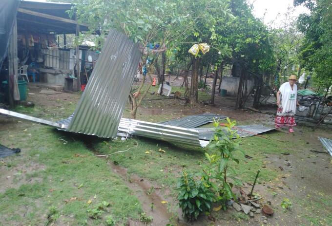 Afectaciones por lluvias en Coyaima, Tolima.