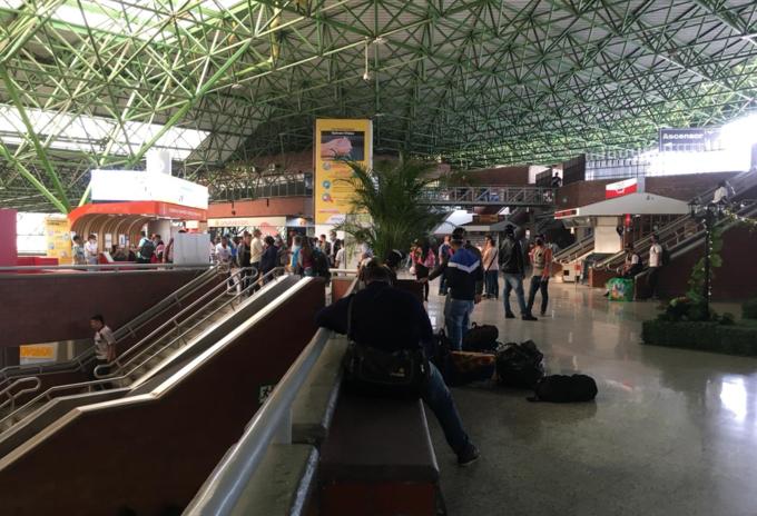 Terminal de Medellín.