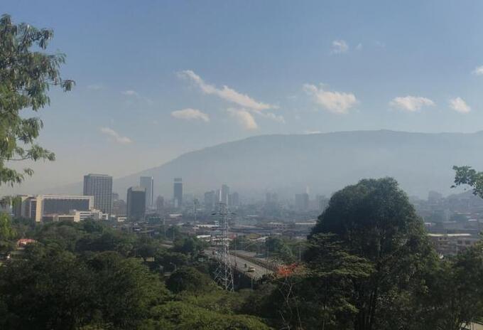 Calidad del aire en Medellín.