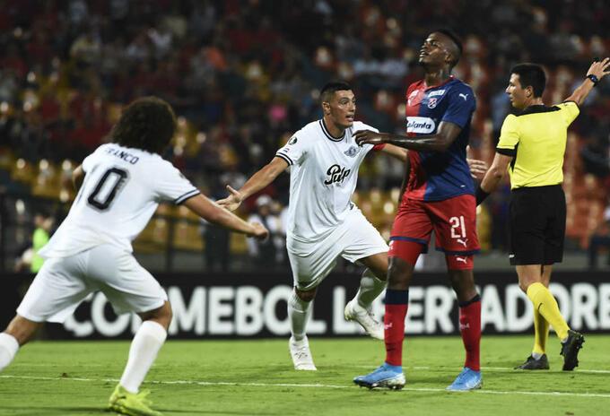 Medellín Vs. Libertad - Copa Libertadores.