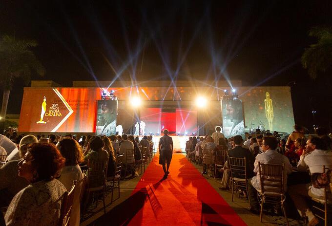 La gala para la entrega de las estatuillas se realiza en el marco del Ficci.