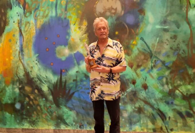 Michael Douglas en Cartagena