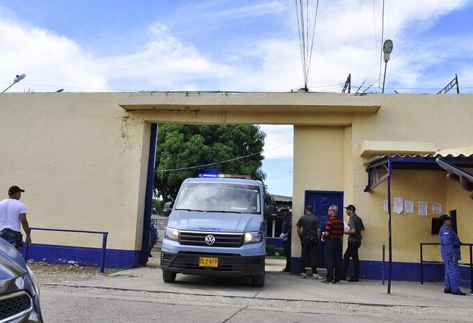 cárcel La judicial, en Valledupar