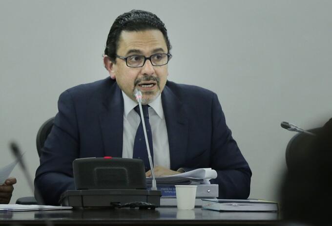 Miguel Ceballos, excomisionado para la Paz