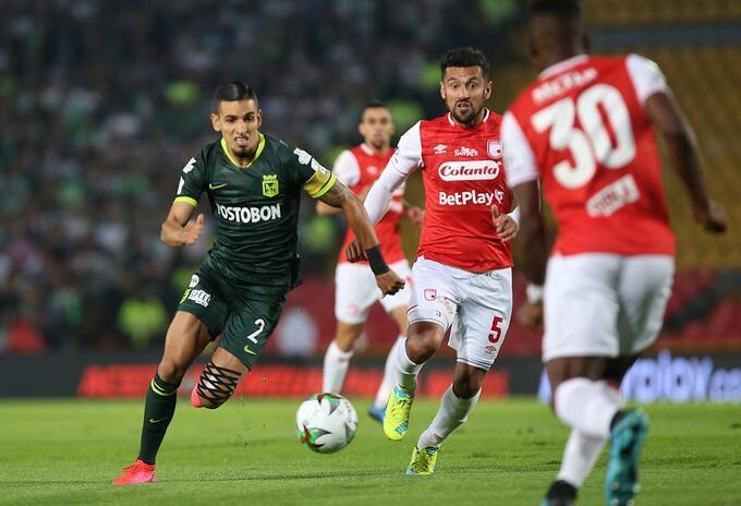 Atlético Nacional vs Santa Fe, Liga Betplay