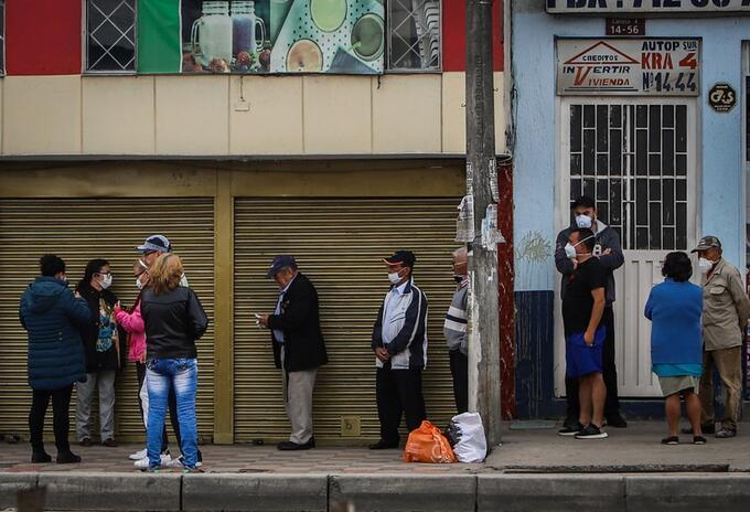 Cuarentena en Bogotá