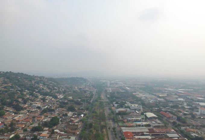 Mala calidad del aire en Cúcuta.