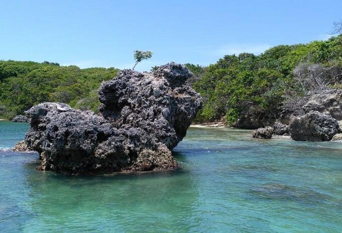 Paisaje Parque Nacional Caribe colombiano.