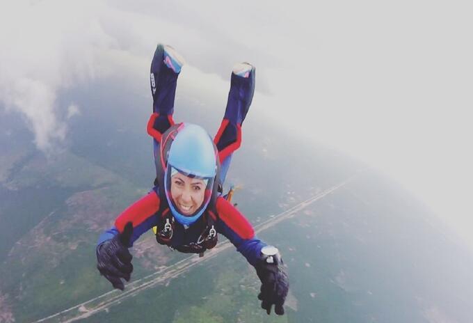 Jefe de salto de la Fuerza Aérea