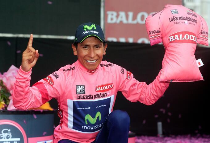 Nairo Quintana, campeón del Giro de Italia 2014