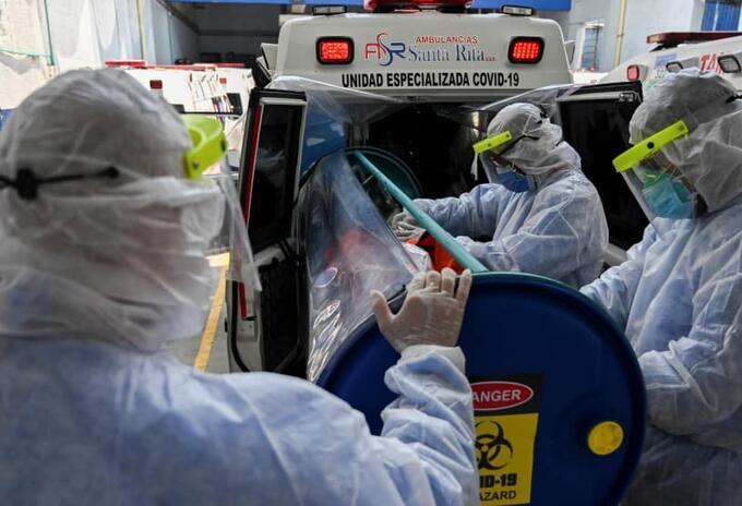 Pacientes coronavirus Europa