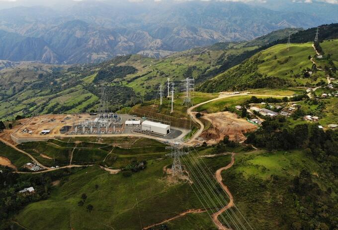La subestación Medellín
