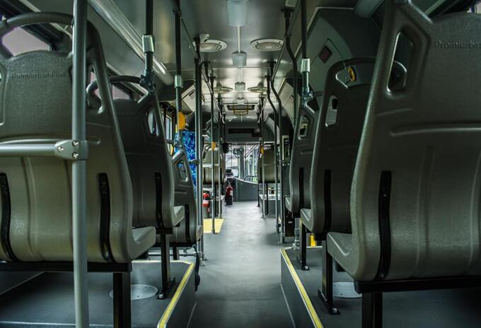 Transporte público en Medellín.