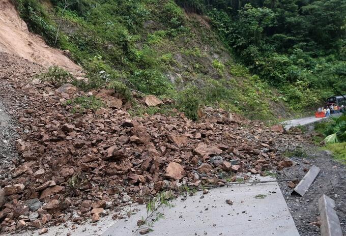 Vía Risaralda - Chocó