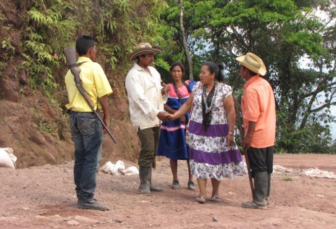 Indígenas Yukpas en el Cesar
