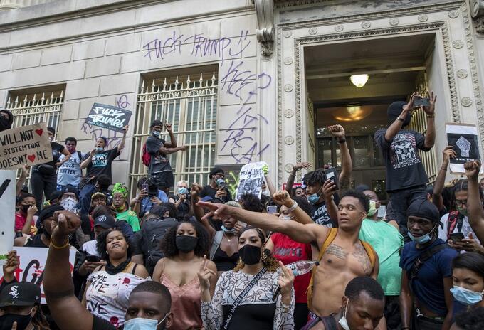 Protestas y disturbios en EE.UU