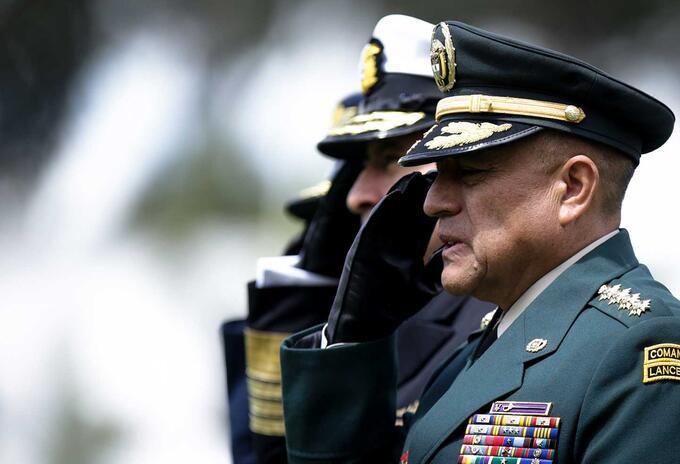 El general Luis Fernando Navarro