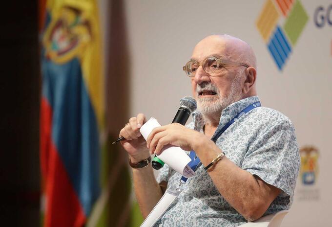 El periodista Juan Gossaín.