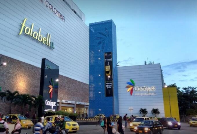 En Santander hay 11 centros comerciales, en donde funcionan 1.500 establecimientos.