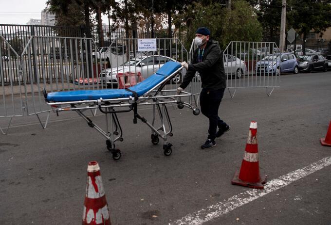 Coronavirus en Chile / muertos por coronavirus