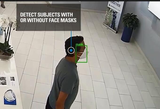 camaras tecnologia mascarillas