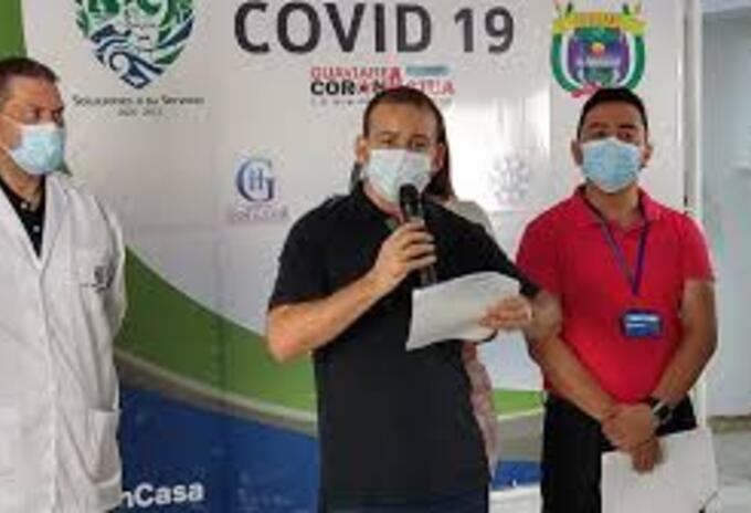 Reporte oficial , primer caso de Covid-19