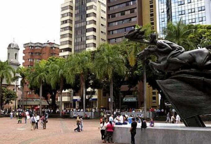 Plaza de Bolívar en Pereira