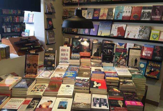 Librería Tornamesa en Bogotá.