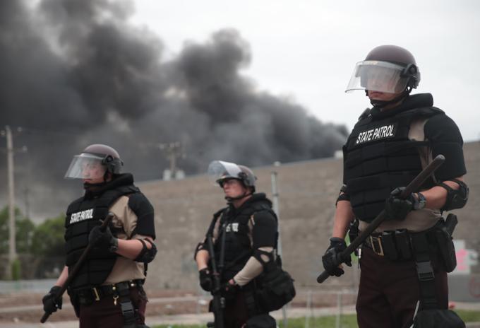 Disturbios en Minneapolis, EE.UU.