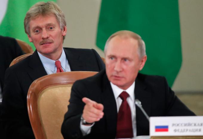 Portavoz de Vladimir Putin, Dmitri Peskov