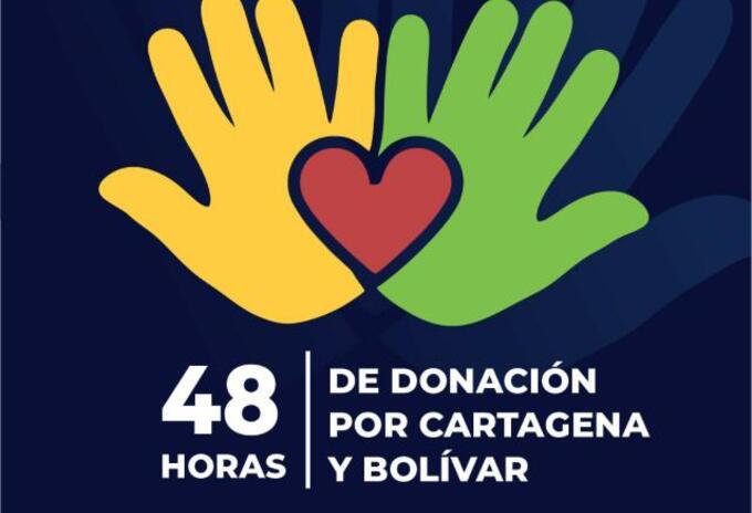 """""""48 horas por Cartagena y Bolívar"""", una iniciativa por lo más necesitados"""