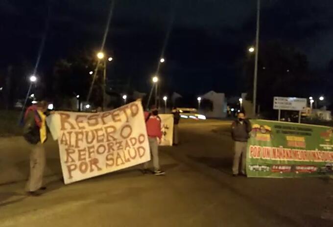 Protestas de conductores: denuncian despido en el sistema Transmilenio