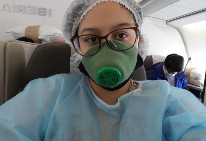 La joven ya inició su tratamiento para luchar contra el cáncer.