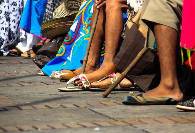 Imagen referencial de indígenas de la comunidad Wayuú.