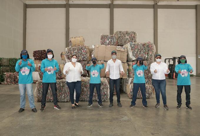 Movimiento RE donó elementos y herramientas de trabajo a recicladores del Caribe