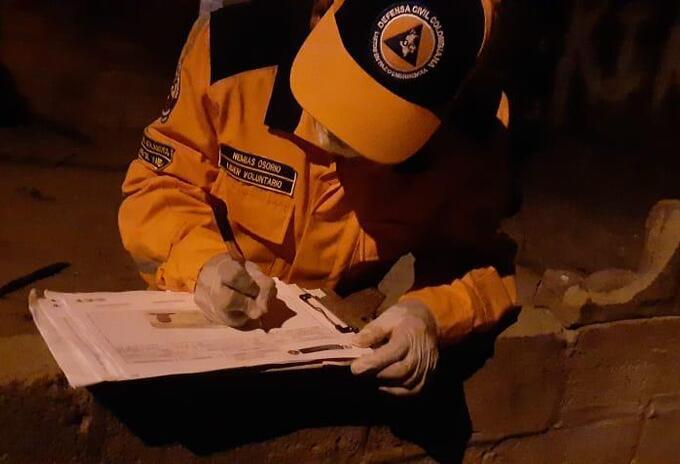 Censo Damnificados Santo Tomas y Palmar de Varela